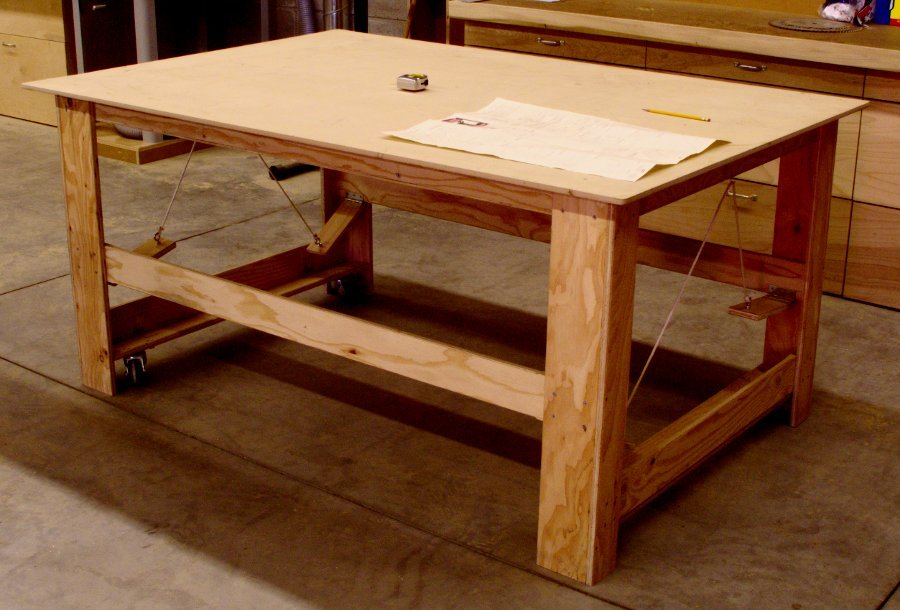 Mobile work table for Table design on mobile